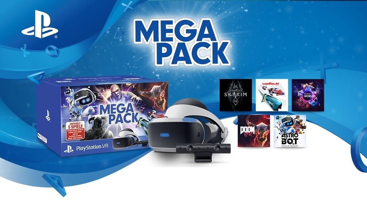 amazon méga pack ps4 casque virtuel avec 5 jeux