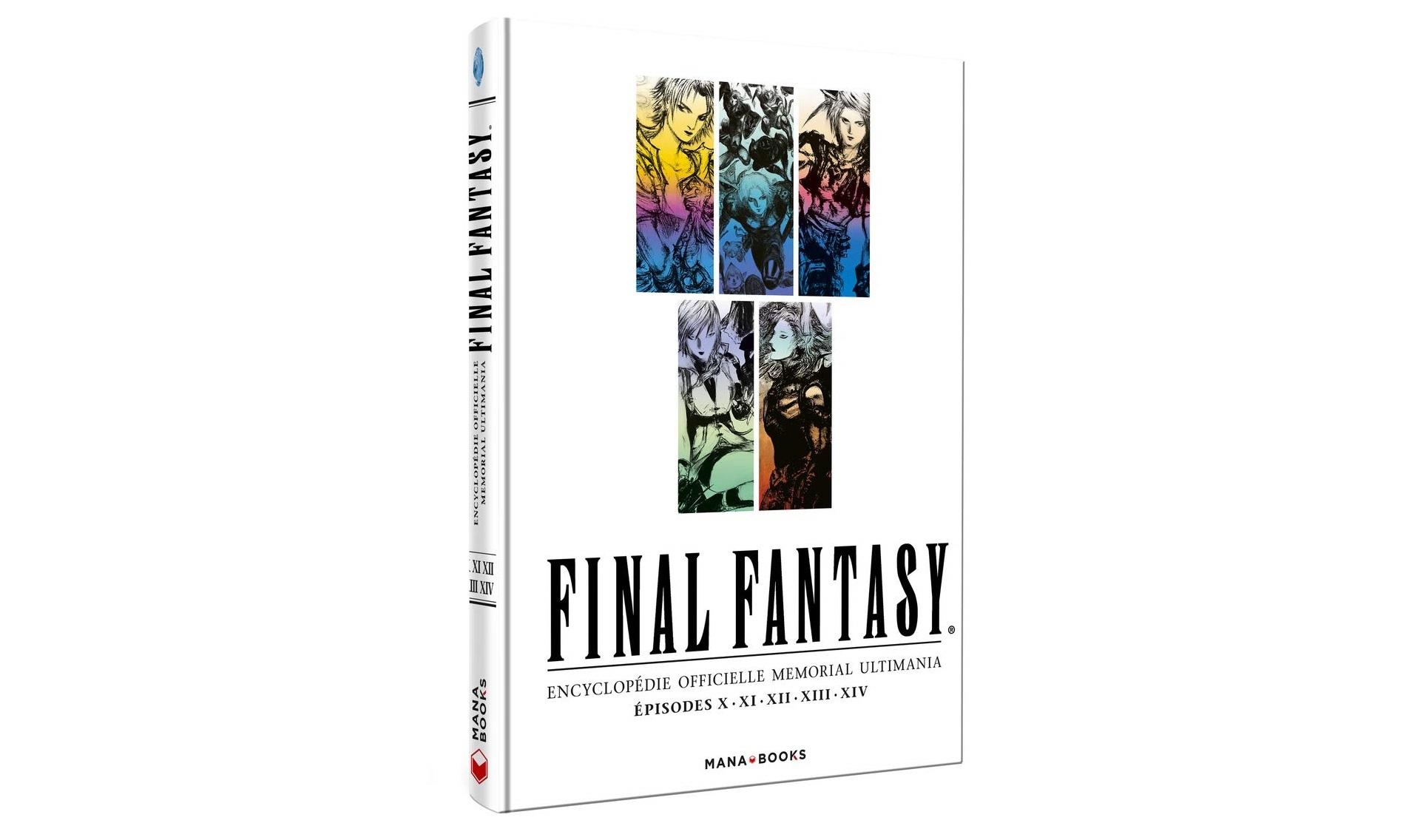 Précommande : Final Fantasy - Encyclopédie officielle Memorial Ultimania Volume 2 - Jeux vidéo (multi)